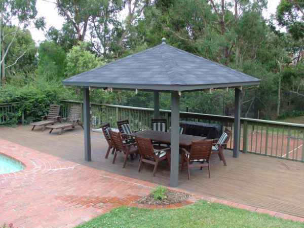 IKO Marathon Dual Black Asphalt Shingle DIY Gazebo